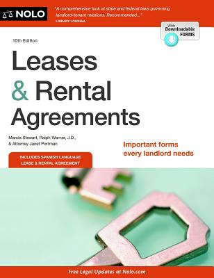 Leases & Rental Agreements - Stewart, Marcia, and Warner, Ralph, and Portman, Janet, Attorney