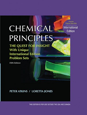 Chemical Principles: The Quest for Insight - Atkins, Peter, and Jones, Loretta