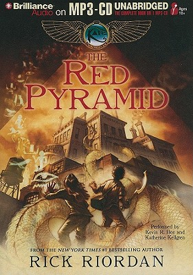 The Red Pyramid - Riordan, Rick, and Free, Kevin R (Read by), and Kellgren, Katherine (Read by)