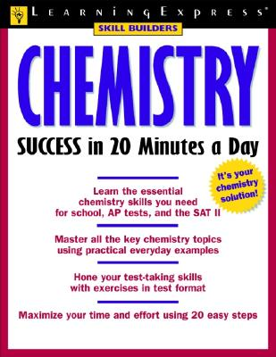 Chemistry Success in 20 Minutes a Day - McGinnis, Michael B, and Learning Express LLC (Compiled by)