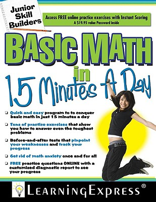 Basic Math in 15 Minutes a Day - Learning Express LLC (Creator)