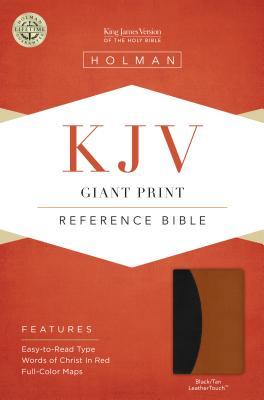 Giant Print Reference Bible-KJV - Broadman & Holman Publishers (Creator)