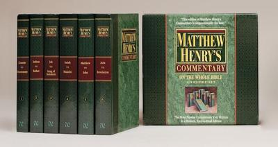 Matthew Henry's Commentary on the Whole Bible - Henry, Matthew, Professor