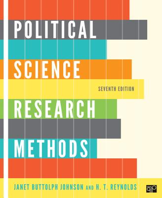 Political Science Research Methods - Johnson, Janet Buttolph, and Reynolds, H T