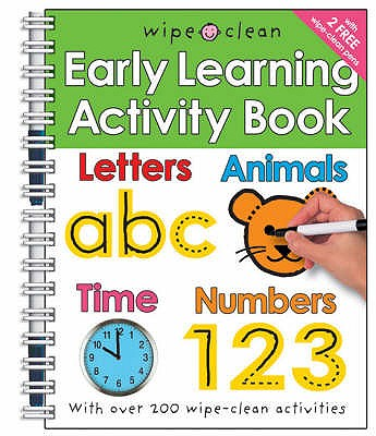 Wipe Clean Early Learning Activity Book - Priddy, Roger