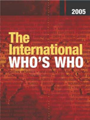 The International Who's Who: Book with Single-User Online Access - Europa Publications (Creator)