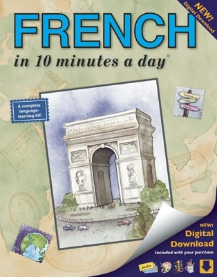 French in 10 Minutes a Day - Kershul, Kristine K, M.A.