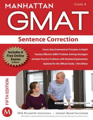 Sentence Correction GMAT Strategy Guide - Manhattan GMAT