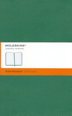 Moleskine Notebook Ruled Oxide Green Hard Cover Large - Moleskine (Creator)