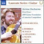 Jérôme Ducharme: Guitar Recital