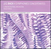 J.C. Bach: 4 Symphonies Concertantes - Alan Hacker (clarinet); Anthony Pike (clarinet); Derek Taylor (horn); Geoffrey Gambold (bassoon); James Sleigh (viola);...