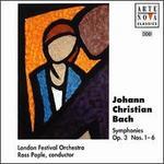 J.C. Bach: Symphonies Op.3