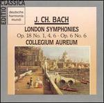 J.Ch. Bach: London Symphonies Op. 18 No. 1, 4, 6, Op. 6 No. 6