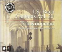 J.S. Bach: Cantatas, Vol. 20 - Bogna Bartosz (alto); Christoph Prégardien (tenor); James Gilchrist (tenor); Johannette Zomer (soprano);...
