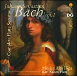 J.S. Bach: Complete Flute Sonatas, Vol. 1
