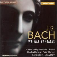 J.S. Bach: Early Cantatas, Vol. 2 - Weimar Cantatas - Andrew Watts (bassoon); Anthony Robson (oboe); Catherine Latham (recorder); Charles Daniels (tenor);...