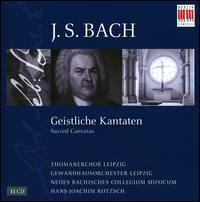 J.S. Bach: Geistliche Kantaten - Arleen Augér (soprano); Dieter Weimann (tenor); Doris Soffel (alto); Eberhard Büchner (tenor); Hans-Joachim Rotzsch (tenor);...