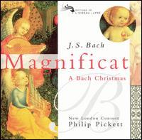 J. S. Bach: Magnificat, BWV 243a; Cantata, BWV 63 - Andrew King (tenor); Catherine Bott (soprano); Christopher Robson (counter tenor); Elisabeth Scholl (soprano);...