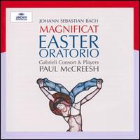 J. S. Bach: Magnificat; Easter Oratorio - Gabrieli Consort & Players; Julia Gooding (soprano); Kimberly McCord (soprano); Neal Davies (bass); Paul Agnew (tenor);...