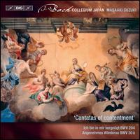 J.S. Bach: Secular Cantatas, Vol. 10 - Cantatas of Contentment - BWV 204, BWV 30a - Aki Matsui (soprano); Bach Collegium Japan; Carolyn Sampson (soprano); Chiharu Takahashi (alto); Chiyuki Urano (bass);...