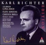 J.S. Bach: Sonatas and Cantata, BWV 4