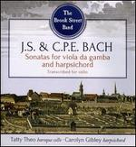 J.S. & C.P.E. Bach: Sonatas for viola da gamba and harpsichord transcribed for cello