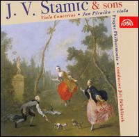J.V. Stamic & Sons: Viola Concertos - Jan Peruska (viola); Prague Philharmonia; Jirí Belohlávek (conductor)