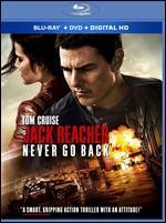 Jack Reacher: Never Go Back [Includes Digital Copy] [Blu-ray/DVD]