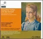 Jacqueline Fontyn und das Konzert, sowie Aufnahmen mit der Originalstimme von Jacqueline Fontyn - Gaby Pas-Van Riet (flute); Jacqueline Fontyn (speech/speaker/speaking part); Jan-Filip Tupa (cello); Kolja Lessing (violin);...