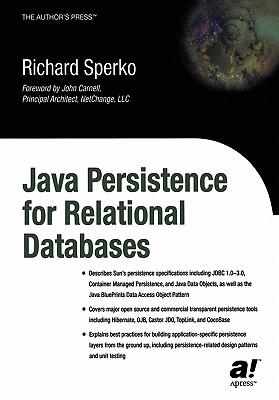 Java Persistence for Relational Databases - Sperko, Richard