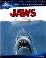 Jaws [Universal 100th Anniversary] [2 Discs] [Includes Digital Copy] [Blu-ray/DVD]