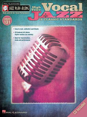 Jazz Play-Along Volume 131: Vocal Jazz (High Voice) - Hal Leonard Publishing Corporation (Creator)