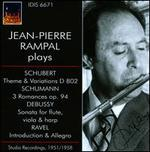 Jean-Pierre Rampal Plays Schubert, Schumann, Debussy & Ravel