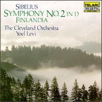 Jean Sibelius: Symphony No. 2; Finlandia - Cleveland Orchestra; Yoel Levi (conductor)