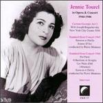 Jennie Tourel In Opera and Concert 1944-1946