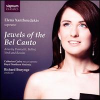 Jewels of the Bel Canto - Catherine Carby (mezzo-soprano); Elena Xanthoudakis (soprano); Peter Francomb (horn); Sharron Griffiths (harp);...