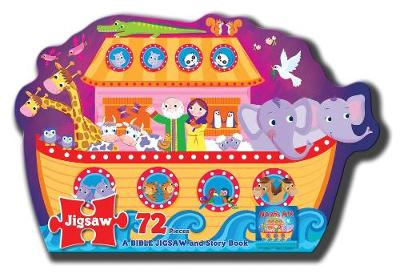 Jigsaw Puzzle: Noah's Ark - A Bible Jigsaw and Story Book: 250 x 205 x 80 - North Parade Publishing