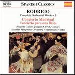 Joaquín Rodrigo: Complete Orchestral Works, Vol. 5