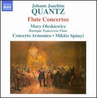 Johann Joachim Quantz: Flute Concertos - Concerto Armonico; Mikl�s Sp�nyi (conductor)