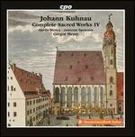 Johann Kuhnau: Complete Sacred Works, Vol. 4