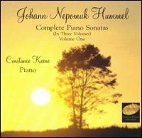 Johann Nepomuk Hummel: Complete Piano Sonatas, Vol. 1 - Constance Keene (piano)