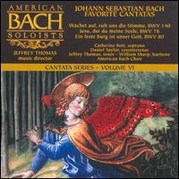 Johann Sebastian Bach: Favorite Cantatas - Catherine Bott (soprano); Daniel Taylor (counter tenor); Jeffrey Thomas (tenor); William Sharp (baritone);...