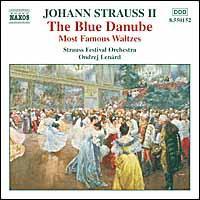Johann Strauss II: The Blue Danube - Strauss Festival Orchestra; Ondrej Lenard (conductor)