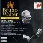 Johannes Brahms: Ein deutsches Requiem, Op. 45; Alto Rhapsody, Op. 53