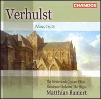 Johannes Verhulst: Mass, Op. 20 - Hubert Claessens (bass); Margriet van Reisen (contralto); Nienke Oostenrijk (soprano);...