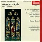 John Albert Delany: Mass in A flat; Ave Maria
