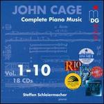 John Cage: Complete Piano Music, Vols. 1-10 - Andreas Seidel (violin); Josef Christof (piano); Steffen Schleiermacher (rainstick); Steffen Schleiermacher (toy piano);...