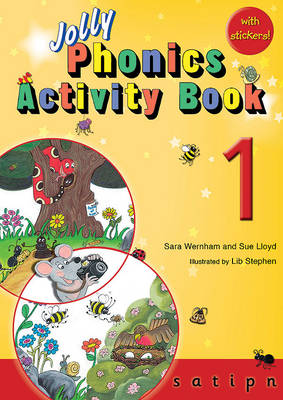Jolly Phonics Activity Book 1: in Precursive Letters (BE) - Wernham, Sara, and Lloyd, Sue
