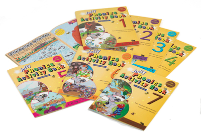 Jolly Phonics Activity Books 1-7: In Print Letters (American English Edition) - Wernham, Sara, and Lloyd, Sue