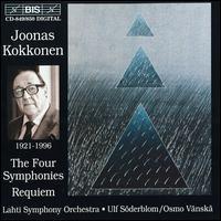 Joonas Kokkonen: The Four Symphonies; Requiem - Ilkka Sivonen (piano); Soile Isokoski (soprano); Walton Grönroos (baritone); Savonlinna Opera Festival Choir (choir, chorus);...